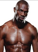 Male celebrity Terrell Owens exposes his nude body
