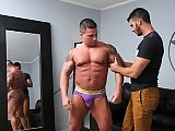 Jimmy Fanz and Braden Charron butt fucking hard