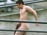 Jody Latham totally naked outdoors