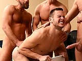 Gay brother in law gets assaulted by the hot men