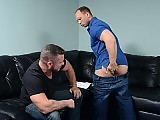 Cheating husband Charlie Harding fucks John Magnum
